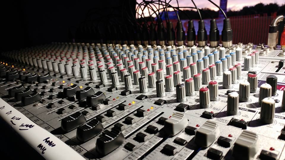 Large Mixing Desk